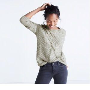 Madewell merino wool sweater